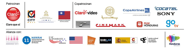 Patrocinadores Festival de cortometrajes El Heraldo 2017